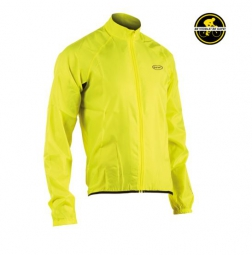 northwave coupe vent jet manches longues jaune fluo