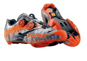 chaussures vtt northwave extreme tech mtb plus 2015 camo orange