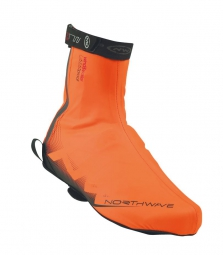 northwave paire de couvres chaussures h2o orange
