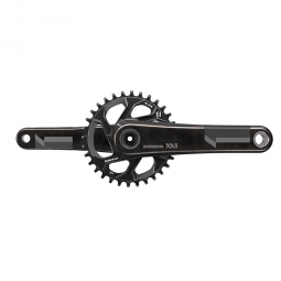 sram pedalier xx1 avec plateau direct mount 32 dents q factor 168 mm bb30 non inclus