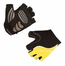 endura paire de gants courts xtract mitt jaune noir