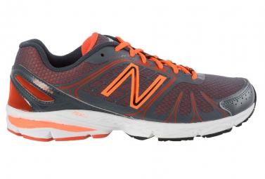 new balance chaussures m 770 v4 gris orange homme