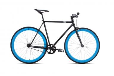 6ku velo complet fixie shelby 4 noir bleu