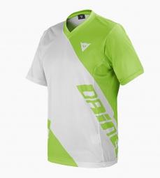 dainese maillot manches courtes basanite blanc vert