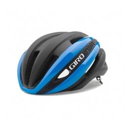 casque giro synthe bleu noir mat