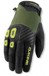 dakine 2015 paire de gants sentinel olive jaune