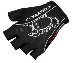 castelli 2015 gants rosso corsa classic noir