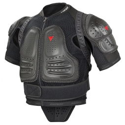dainese veste de protection integrale manis performance armour noir