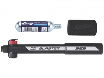 bbb combo mini pompe gonfleur co2 co2blaster