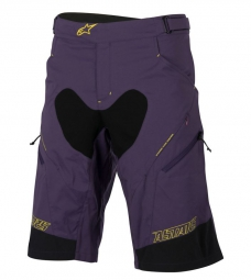 alpinestars short drop 2 violet