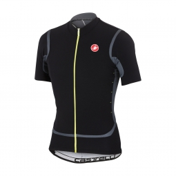 castelli 2015 maillot manches courtes raffica fz noir turbulence