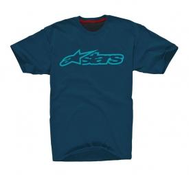 alpinestars t shirt blaze 2 bleu