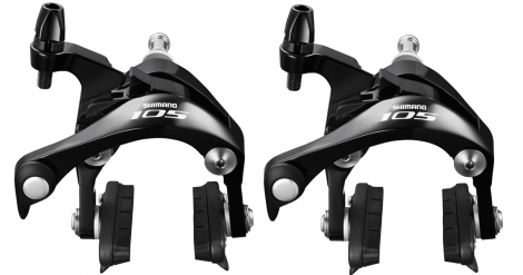 shimano 2015 paire d etrier de frein 105 5800 avant arriere noir