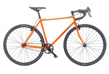 bombtrack velo complet single speed arise orange