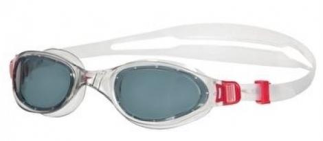 speedo paire de lunettes de natation futura plus rouge