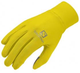 salomon gants active jaune