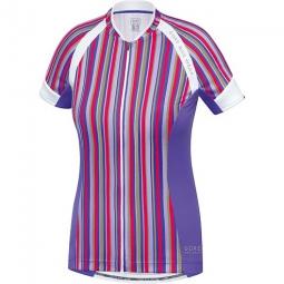 gore bike wear 2015 maillot manches courtes femmes power violet
