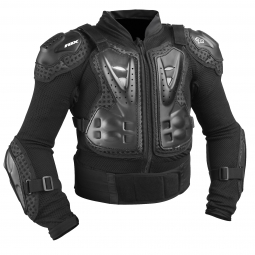fox veste protection enfant titan sport jacket noir