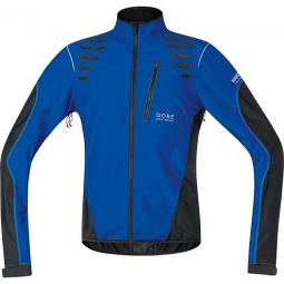 gore bike wear 2015 veste femme element windstopper active shell bleu noir