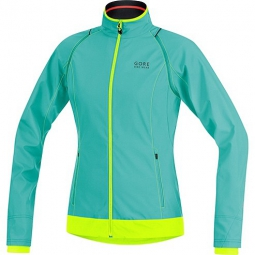 gore bike wear 2015 veste femme element windstopper active shell zipp off turquoise
