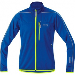 gore bike wear veste countdown windstopper bleu jaune