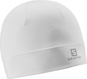 salomon bonnet active white