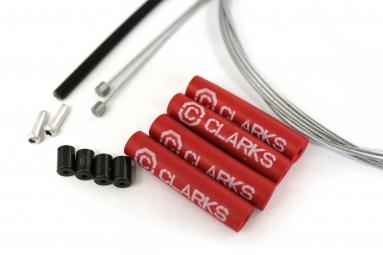 clarks kit complet cable transmission compatible campagnolo noir
