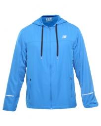 new balance veste a capuche sequence hood homme bleu