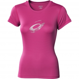asics maillot graphic femme