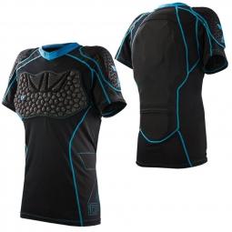 seven veste de protection manches courtes transition noir