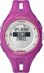 timex montre ironman run x20 gps rose