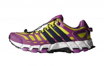 adidas paire de chaussures adistar raven 3 femme violet jaune