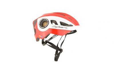 casque urge supacross rouge blanc