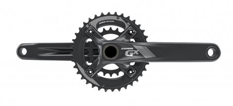 sram 2016 pedalier gx 1000 bb30 boitier non inclus 36 22 dents 10v noir