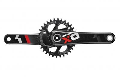 sram pedalier x01 direct mount avec plateau 32 dents 11v gxp rouge