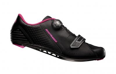 chaussures route femme bontrager anara 2015 noir rose