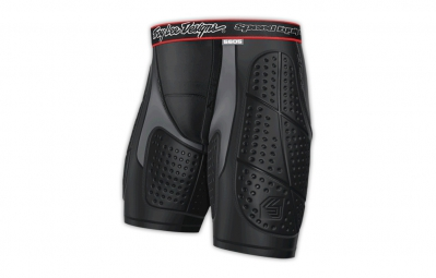 troy lee designs short de protection avec chamois 5605 noir