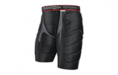 troy lee designs short de protection avec peau de chamois 7605 noir