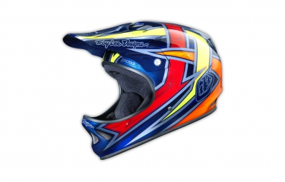 casque integral troy lee designs d2 proven bleu