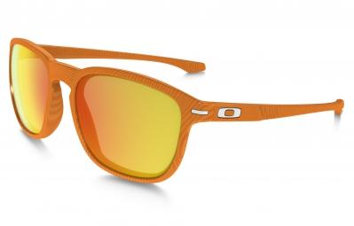 oakley paire de lunettes enduro fingerprint orange fire iridium ref oo9223 22
