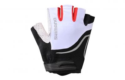shimano gants asphalt blanc