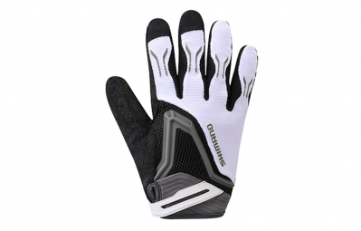 shimano gants freeride blanc