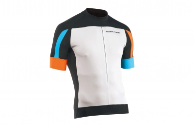 northwave maillot sonic blanc noir