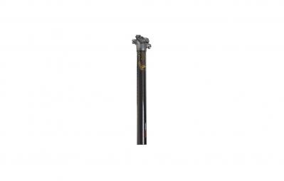truvativ tige de selle world cup carbon offset 0mm longueur 400mm noir