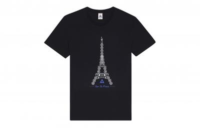 le coq sportif t shirt tour de france n 3 noir