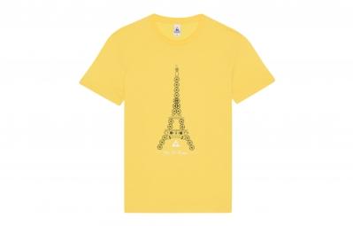 le coq sportif t shirt tour de france n 3 jaune