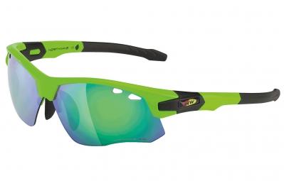 northwave paire de lunettes galaxy vert fluo noir