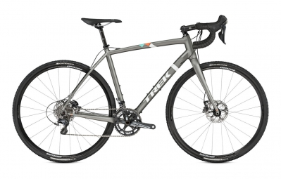 trek velo complet cyclo cross crockett 9 disc gris