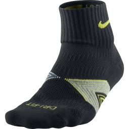 nike chaussettes cushioning support noir