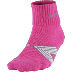 nike chaussettes cushioning support rose